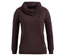 Sweatshirt 'pepine' burgunder