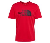 Shirt 'Easy' rot / schwarz