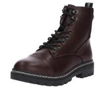 Boots 'Bex Lace Up Bootie' burgunder