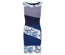 Kleid 'Vest_Olivia' navy / weiß