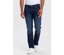 Straight Leg Jeans 'Dylan' blue denim