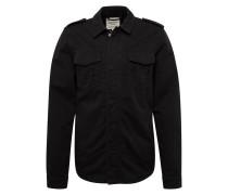 Hemdjacke schwarz
