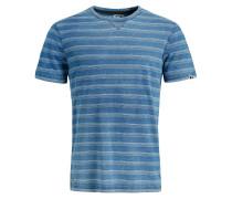 T-Shirt 'Rugby' himmelblau / hellblau