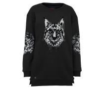 Sweatshirt 'malisa' schwarz / weiß