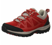 Sneakers grau / rot / schwarz
