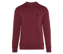 'Throw Ring Loop' Sweatshirt blutrot