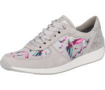 Sneakers Low 'Lissabon' greige / cyclam