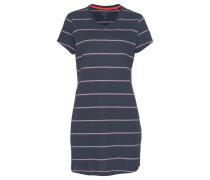 Sleepshirt marine / rot / weiß