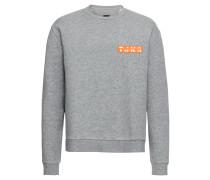 Sweatshirt 'buzz PR' graumeliert
