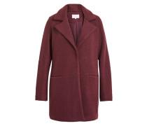 Klassischer Mantel rot