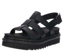 Sandale 'Yelena' schwarz