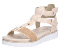 Sandale 'Kiko' beige / rosegold