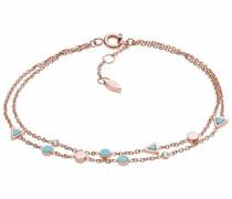 Armband türkis / rosegold