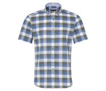 Hemd Slim FIT blau / khaki / weiß