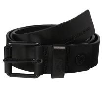 Ledergürtel 3.5cm schwarz