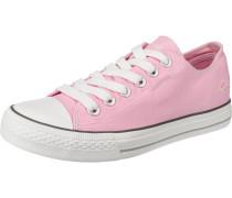 Sneakers Low rosa / weiß
