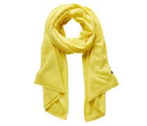 Strickschal gelb