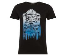T-Shirt 'manepe T/s' schwarz
