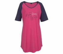 Bigshirt marine / pink