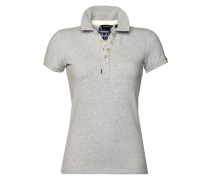 Poloshirt 'Shore Polo' graumeliert