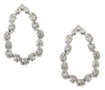 Ohrringe 'Crystal Open Teardrop Earrings'