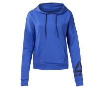 Sportsweatshirt royalblau / schwarz