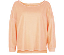 Sweatshirt Sweat Velvet orange