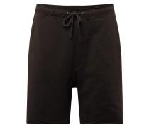 Hose 'Dry shorts' schwarz