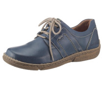 Schnürschuh blue denim