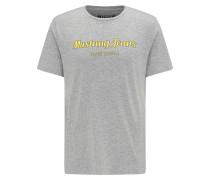 T-Shirt limone / graumeliert