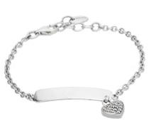 Charm-Armband 'Love' silber