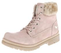 Stiefelette hellbeige / rosa