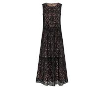 Kleid schwarz / beige