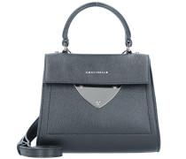 Handtasche schwarz / silber