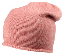 Strickmütze rosé