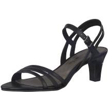Riemchen Sandale 'Medium High' schwarz