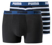 Boxer blau / schwarz / weiß