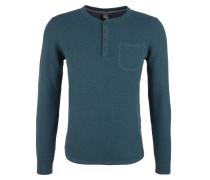 Pullover himmelblau / schwarzmeliert