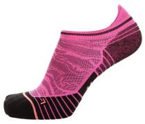 Socken dunkelpink / schwarz