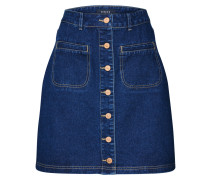 Minirock blue denim