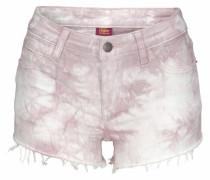 Hotpants flieder / weiß