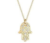 Halskette 'Hamsa Hand' gold