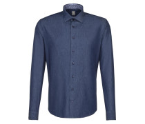 Hemd 'Perfect Fit' blau
