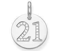 Kettenanhänger 'Coin 21 Lbpe0019-051-21'