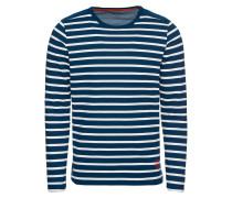 Pullover 'Bolly' dunkelblau / weiß