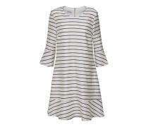 Kleid 'e023S' navy / weiß