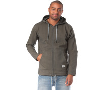 Kapuzenjacke 'High Tech' khaki