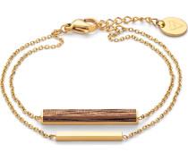 Armband 'Walnut' gold