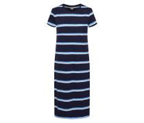 Kleid 'v-Ss Midi TEE Dress' navy