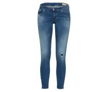 Jeans Slimfit 'Skinzee-Low-Zip' indigo